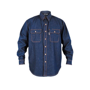 Flame Resistant Denim Shirt